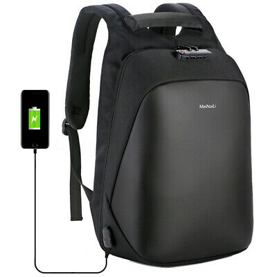Men Anti-theft Waterproof Backpack Business Back To School Travel Laptop Bag