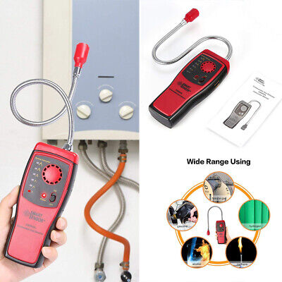 Combustible Gas Detector Methane natural Gas Leak Analyzer Tester Alarm Portable