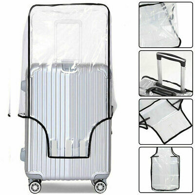 2019 Waterproof Transparent Travel Protective Luggage Suitcase Cover Protector