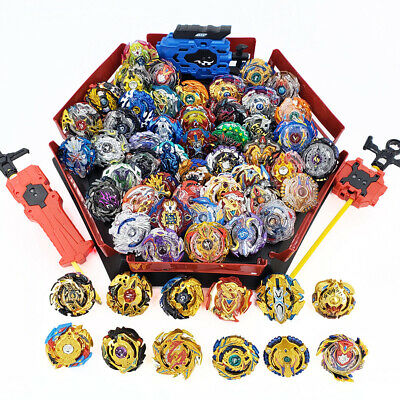 8Pc Beyblade Burst Arena Launcher SET Evolution Battle Platform Stadium Toys AU