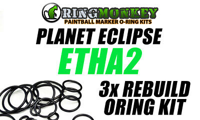 Planet Eclipse Geo 3 orings by Flasc Paintball 3.5 o-ring kit W// 300 3.1