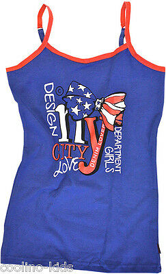 VINGINO UNDERWEAR UNTERHEMD GIRLS SINGLET CITY NY Gr. 98 /104 / 3 / 4 Y