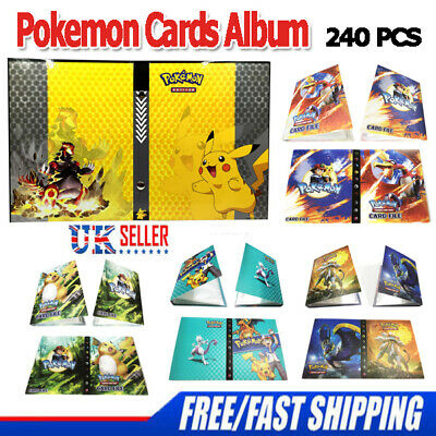 NEW 240/324P Capacity Card Holder for Pokemon Album Book List Collectors Folder