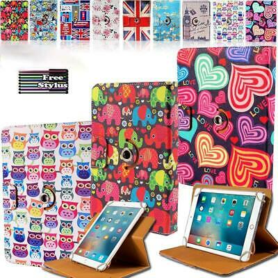 "For All 7.9"" iPad Mini / 9.7"" iPad - Rotating Stand Wallet Leather Cover Case"