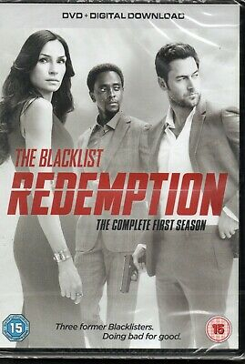 THE BLACKLIST REDEMPTION - The Complete Season 1 - DVD Set *NEW & SEALED*