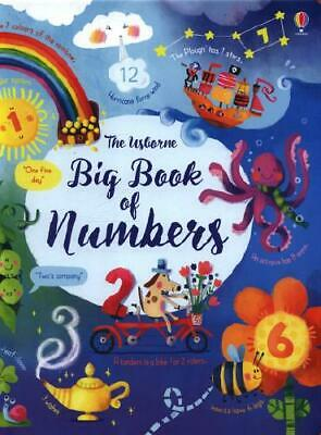 The Usborne Big Book of Numbers by Felicity Brooks, Sophia Touliatou (artist)