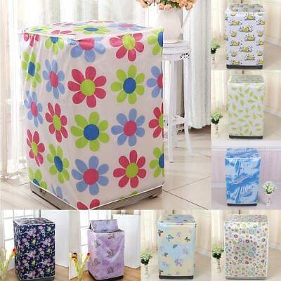 Washing Machine Cover Durable Practical Dustproof Zipper Waterproof EA