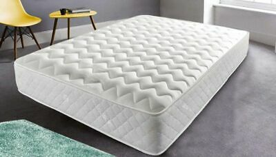 Brand New Memory Foam Topped Sprung Mattress 3Ft 4Ft 4Ft6 Double 5Ft Uk