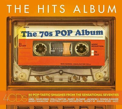THE HITS ALBUM: THE 70s POP ALBUM 4 CD SET (Released April 12th 2019)
