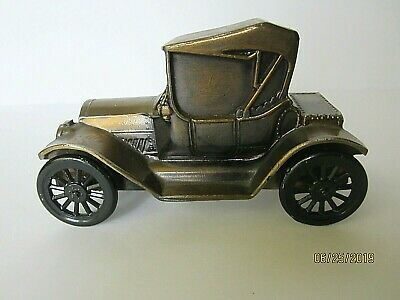 VINTAGE DIE CAST METAL 1915 CHEVY CAR BANK, BANTHRICO, Inc