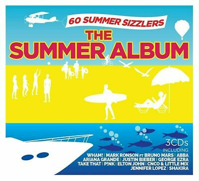 THE SUMMER ALBUM 3 CD SET (Released June 21st 2019) - 60 Summer Hits