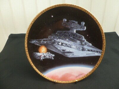 Hamilton Star Wars Collector Plate Star Destroyer *Proof Plate*