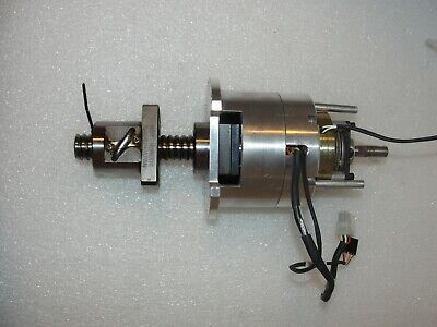 Brooks Automation MagnaTran 7 Z-Axis Drive Assembly Ball Screw KGF, Motor