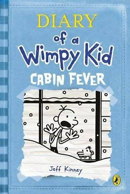 Diary of a Wimpy Kid: Cabin Fever (Book 6) by Jeff Kinney, Good Used Book (Hardc