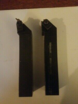 """Kennametal NSR-163D and NRR-163D top notch groovers. 1"""" shank."""