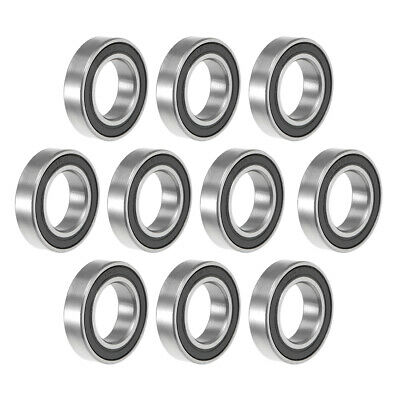 6801-2RS Ball Bearing 12x21x5mm Double Sealed ABEC-1 Bearings 10pcs