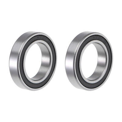 6804-2RS Ball Bearing 20x32x7mm Double Sealed ABEC-1 Bearings 2pcs