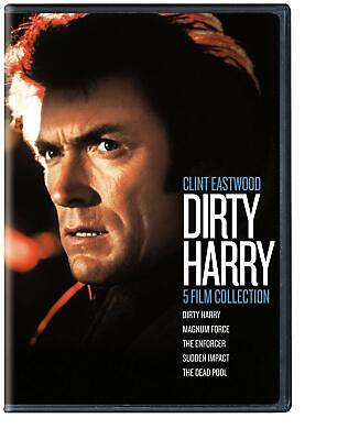 Dirty Harry 5 Film Collection Magnum Force The Enforcer Sudden Impact Dvd R1