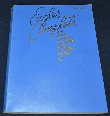 Vintage Eagles Complete piano guitar Song sheet Music Book Revised & Updated