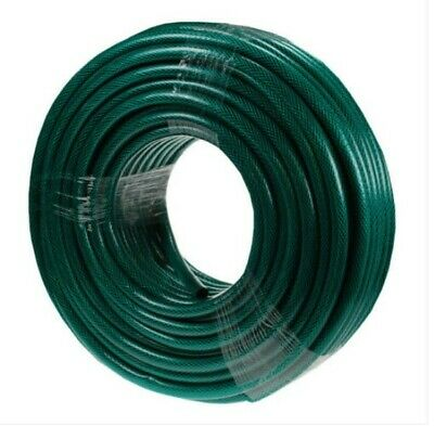 Heavy Duty Reinforced Garden Hose Pipe Reel 50M 100M Anti-Kink Water Hosepipe UK