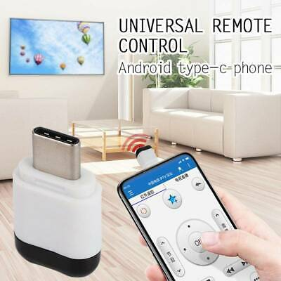 Android Smartphone Universal Micro USB Type C IR Infrared Adapter Remote Control