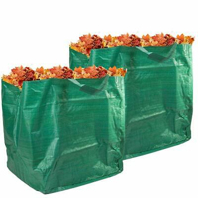 Set of 2 Strong & Durable Heavy-Duty Garden Grass Leaves Reusable Waste Bags 90L