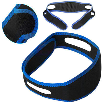 HR- Snore Stop Belt Anti Snoring Cpap Chin Strap Sleep Apnea Jaw Solution Unique