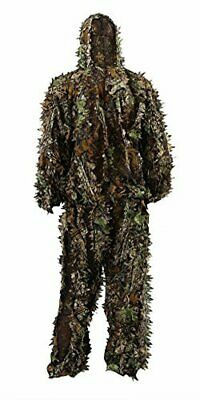 31e2f3d92fd6c Outdoor Camo Ghillie Suit 3D Leafy Camouflage Clothing Jungle Woodland  Hunting