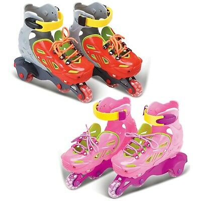 Kids Children's Size 12.5 - 3 Roller Skates Blades In-Liners 4 Wheels Boys Girls