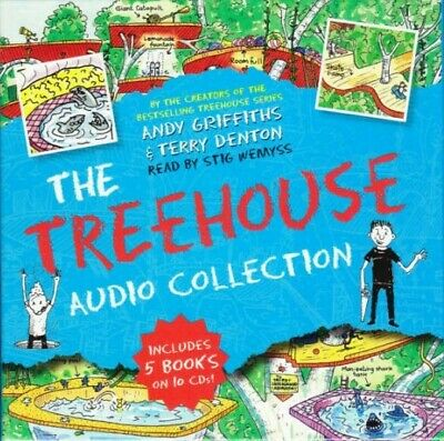 The Treehouse Collection - Andy Griffiths - Brand New CD & MP3 - FREE P&P