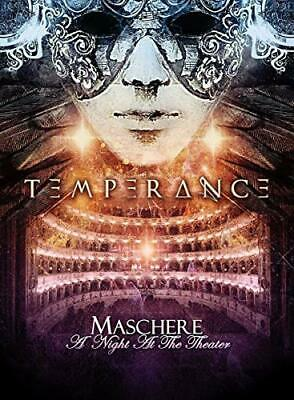 Temperance - Maschere - A Night At the Theater - DVD - New