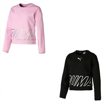 the cheapest exquisite design reasonable price PUMA MÄDCHEN PULLOVER Alpha Crew Sweat TR G 854263 - EUR 13 ...