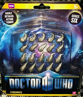 Doctor Dr Who Series 6 Characters Action Figures Cybermats