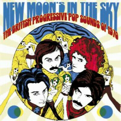 NEW MOON'S IN THE SKY THE BRITISH PROGRESSIVE POP SOUND Various Artists TRIPLE