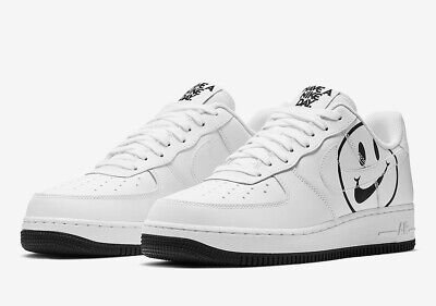 Details about Nike Air Force 1 Low 07 LV8 Have A Nike Day White Black Sz 4C 15 BQ9044 100 NEW