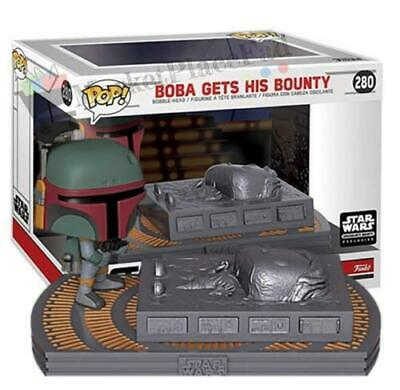 Funko POP! Star Wars Movie Moment Smuggler's Exclusive #280 Boba Gets His Bounty