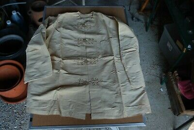 Vintage 1930/40s Fancy Cloth Japanese Kimono & Pants, Shell Buttons, Large Size