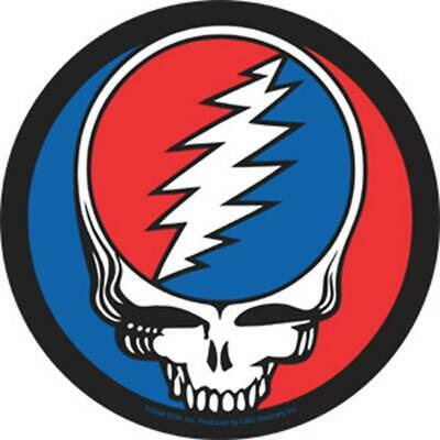 GRATEFUL DEAD Steal Your Face Sticker/Decal rock music band car bumper