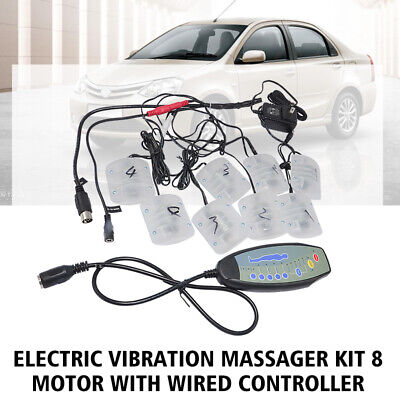 Electric Vibration Massager kit 8 Motor with Wired Controller DIY Sofa Chair CY