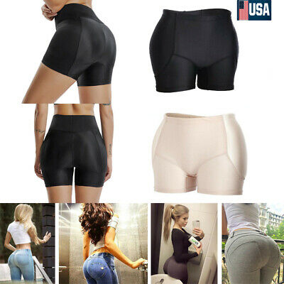Women Fake Ass Butt Hip Enhancer Shaper Lifter Underwear Panties Padded Shorts