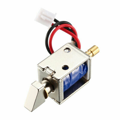 DC 12V 0.43A 4mm Mini Electromagnetic Solenoid Lock Assembly for Electirc Lock