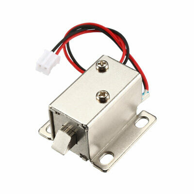 DC 12V 0.42A 6mm Mini Electromagnetic Solenoid Lock Assembly for Electirc Lock