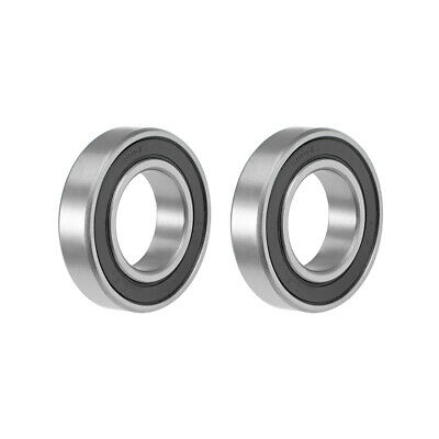 6006-2RS Ball Bearing 30x55x13mm Double Sealed ABEC-3 Bearings 2pcs