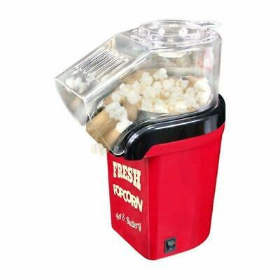 Classic Hot Air Homemade Popcorn Maker Machine Healthy & Fat-Free with 24x Bags
