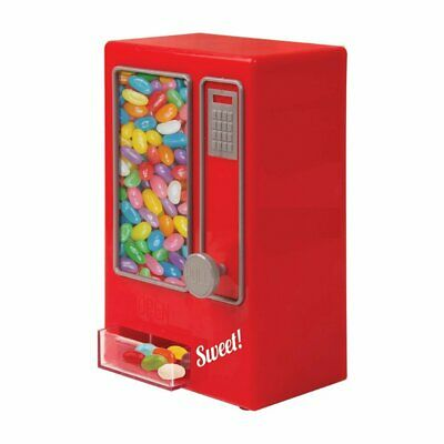 Red Mini Retro Style Children's Kids Sweets Nuts Vending Machine Candy Dispenser