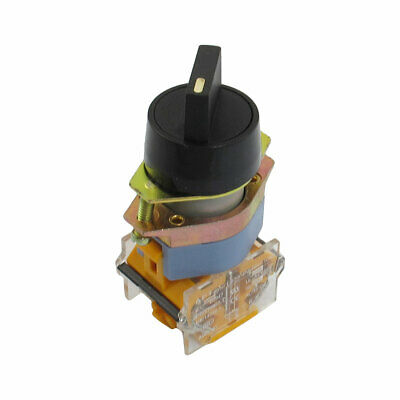 AC 660V 10A 1NO 1NC Two Position Latching Selector Switch Rotary