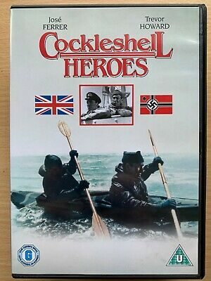 Cockleshell Heroes DVD 1954 Seconde Guerre Mondiale / 2 Film Classique With