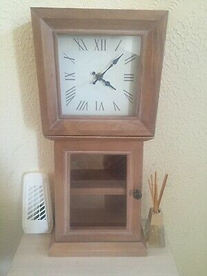 NEXT stunning small grandmother clock with storage cost £65