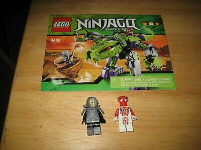 LEGO NINJAGO, RISE of the Snakes - Fangpyre Mech (9455) [Excellent
