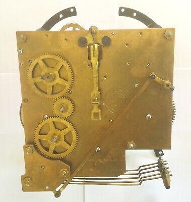 Smiths Enfield Westminster Chime Movement  Spares- Working Order  Vgc